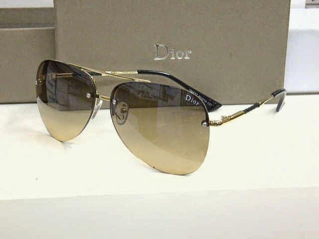 Kacamata Dior 160677 Gold Dark Brown