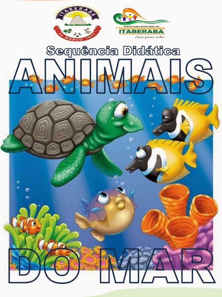 Excepcional Projeto Didático Animais do Mar - Ler para estudar e produzir  IJ86