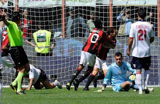 Hasil AC Milan vs Bologna