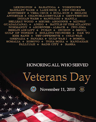 Veterans Day 2010 Official Poster, November 11
