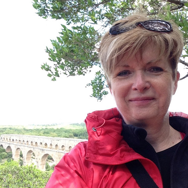 Pont gu Gard over my shoulder