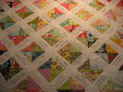 Modern Siggy Swap quilt