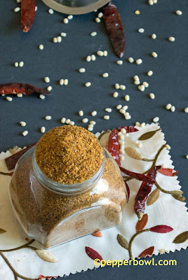 Idly-Podi-Chutney-Powder-method