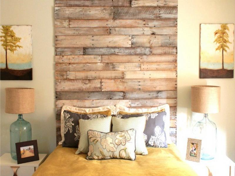 10 ambientes decorados con madera reciclada quiero m s