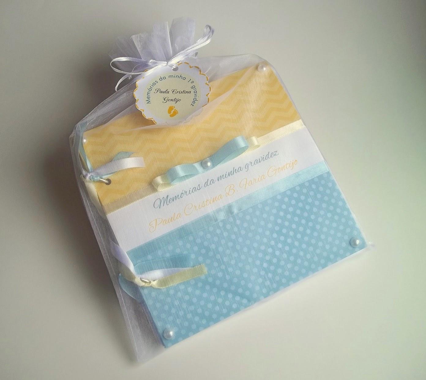 amarelo, azul,presente, grávida, diário, álbum