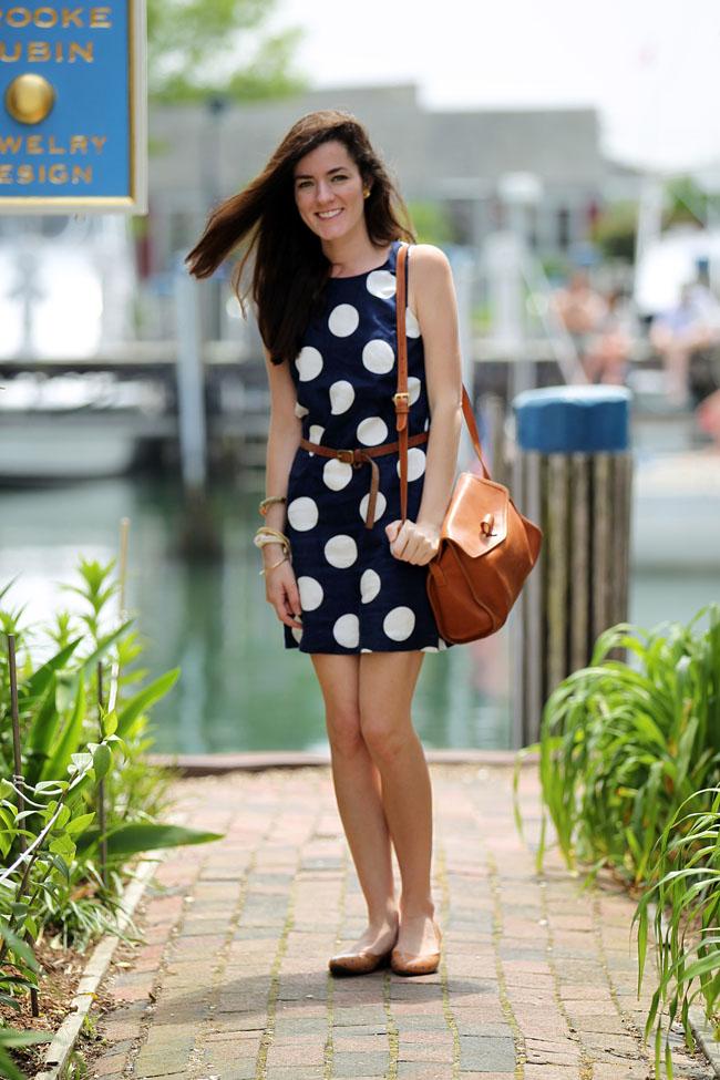 Classy Girls Wear Pearls Polka Yacht