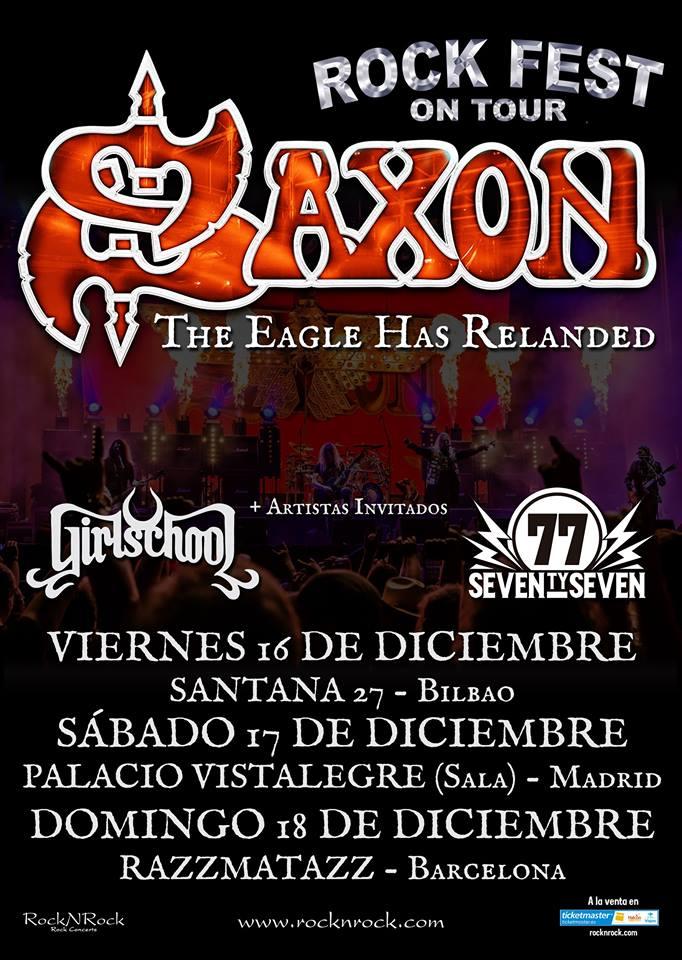 SAXON EN ESPAÑA