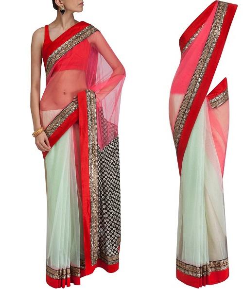 sabyasachi sarees latest collection 2013 sketch customs