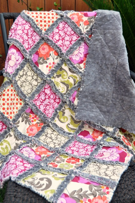 ... Originals - Modern Quilts and DIY Projects: Meadowsweet Rag Quilt