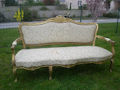 Banquette Louis xv en vente