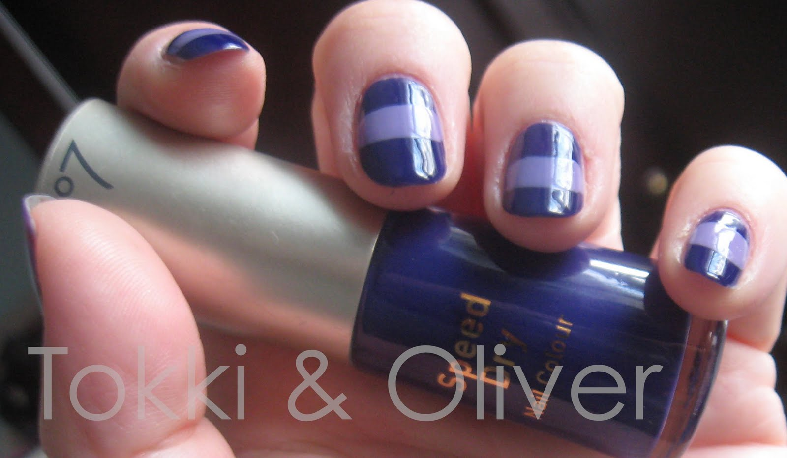 Tokki and Oliver: NOTD: No 7 Violetta