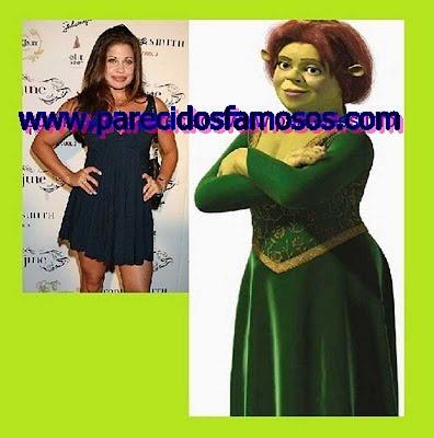 Topanga Boy con Fiona Shrek