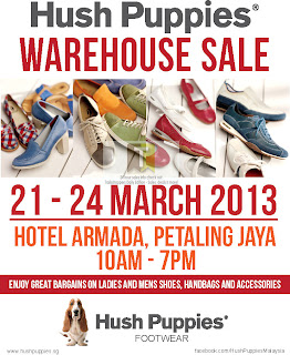 Hush Puppies Warehouse Sale 2013