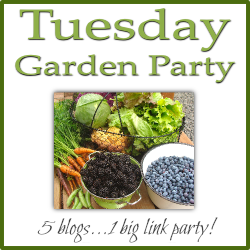Grab button for Tuesday Garden Party
