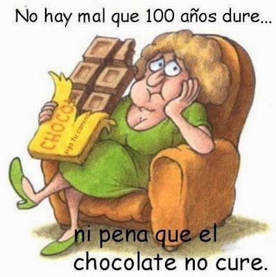 No hay pena que el chocolate no cure