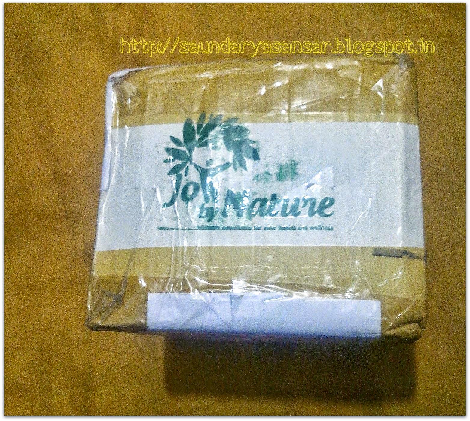 JoybyNature.com organic haul