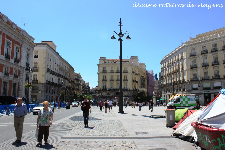Madri 2 dia templo de debod e telef rico de madri for Puerta del sol madrid mapa