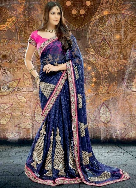 Indian Festive Saree Designs 2014