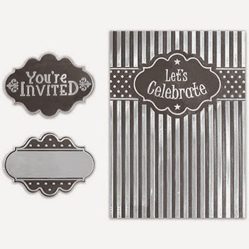 Spellbinders Interchangeable Embossing Folder Sheer Perpendicular SBIF-005