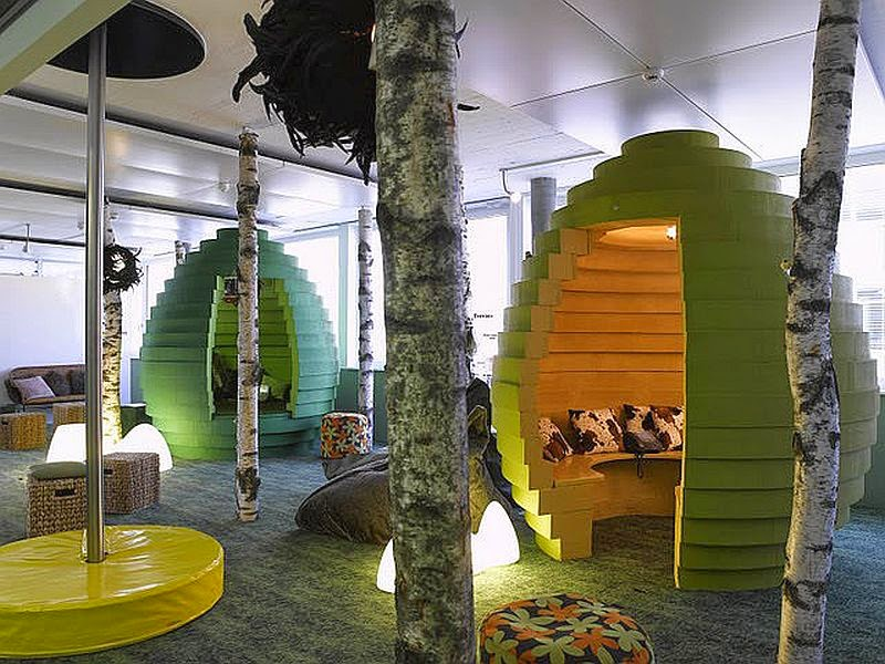 Cool Creative and Inspirational Workspaces for You – Cool Work Spaces