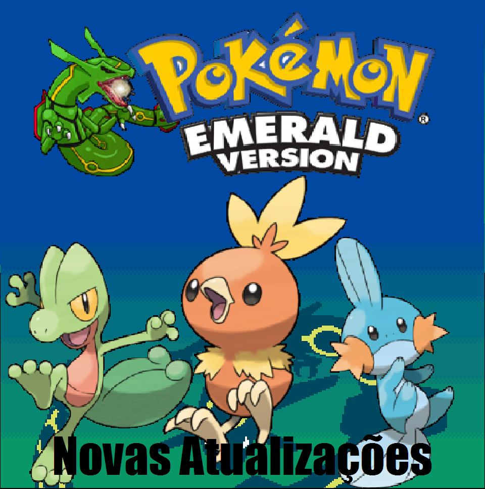 Pokemon Emerald Novas Atualizações