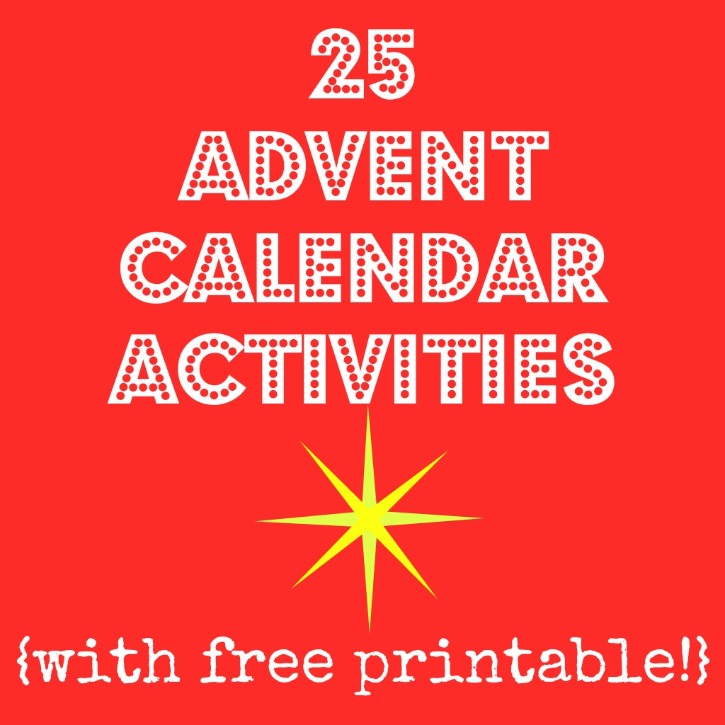 photo advent calendar, glue the activities to the back of the photos ...