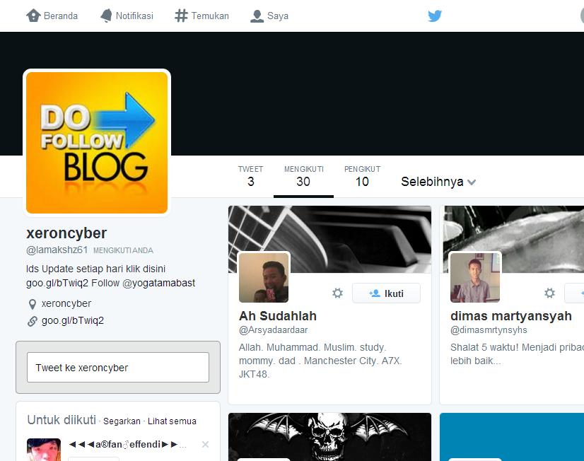 IDs Twitter 19 April 2014