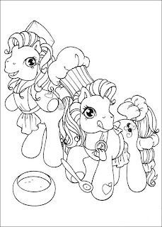 pony coloring pages, free coloring pages