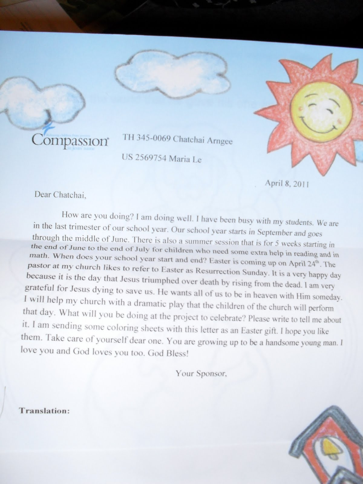 Passionate for compassion the importance of letter writing the importance of letter writing spiritdancerdesigns Images