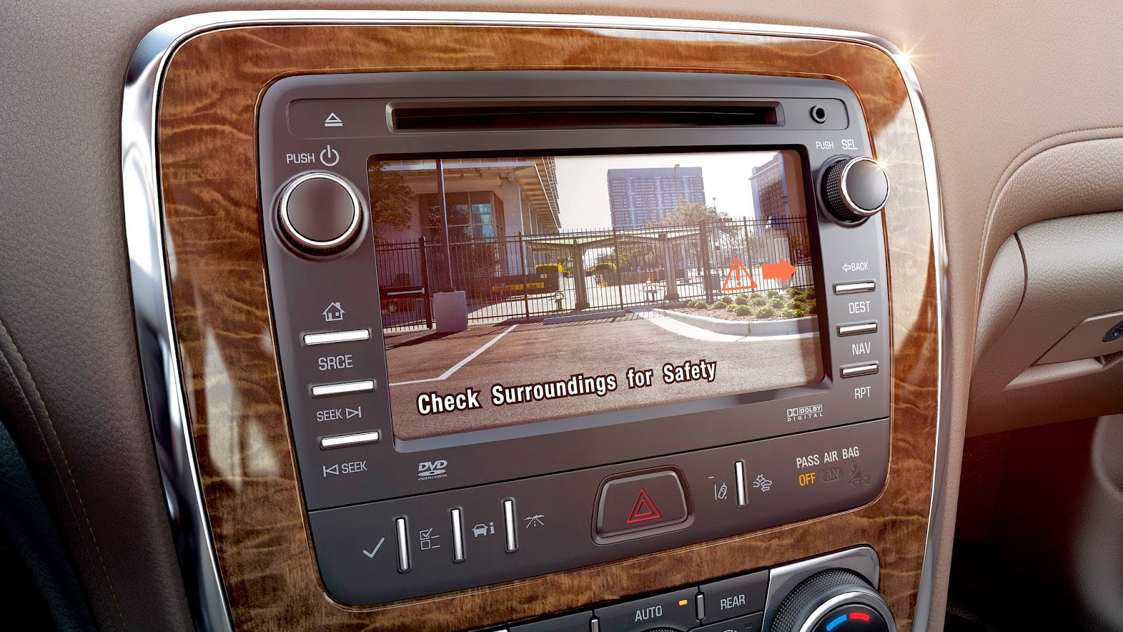 Rearview Cameras Standard On 2015 Buick Models