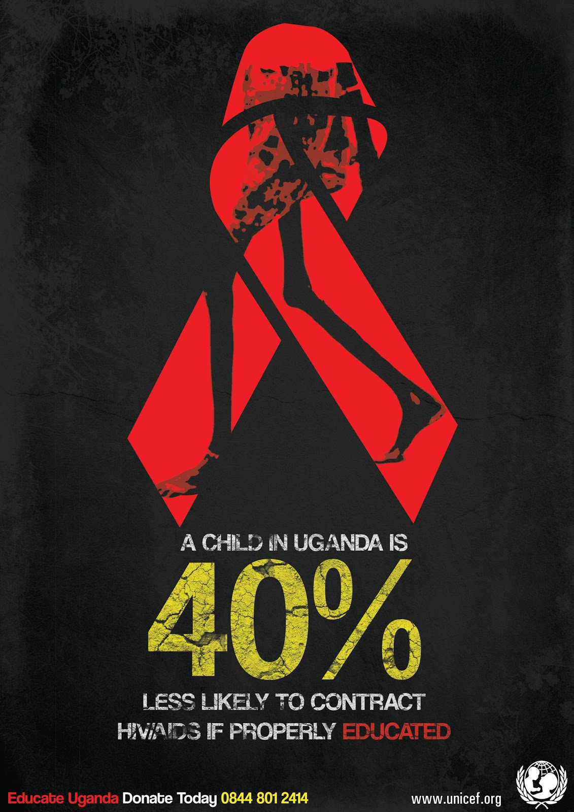 DES 509 MAJOR PROJECTS: final aids poster and billboard design