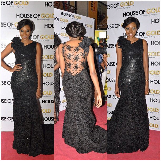 yvonne nelson house of gold premiere