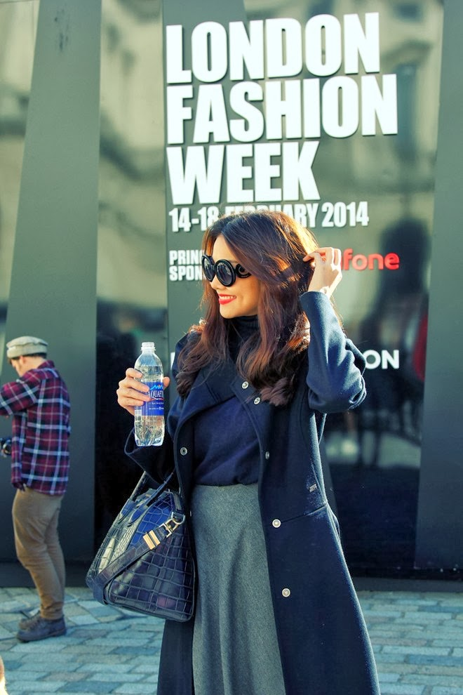 Thanh Hang prominent at London Fashion Week 2014
