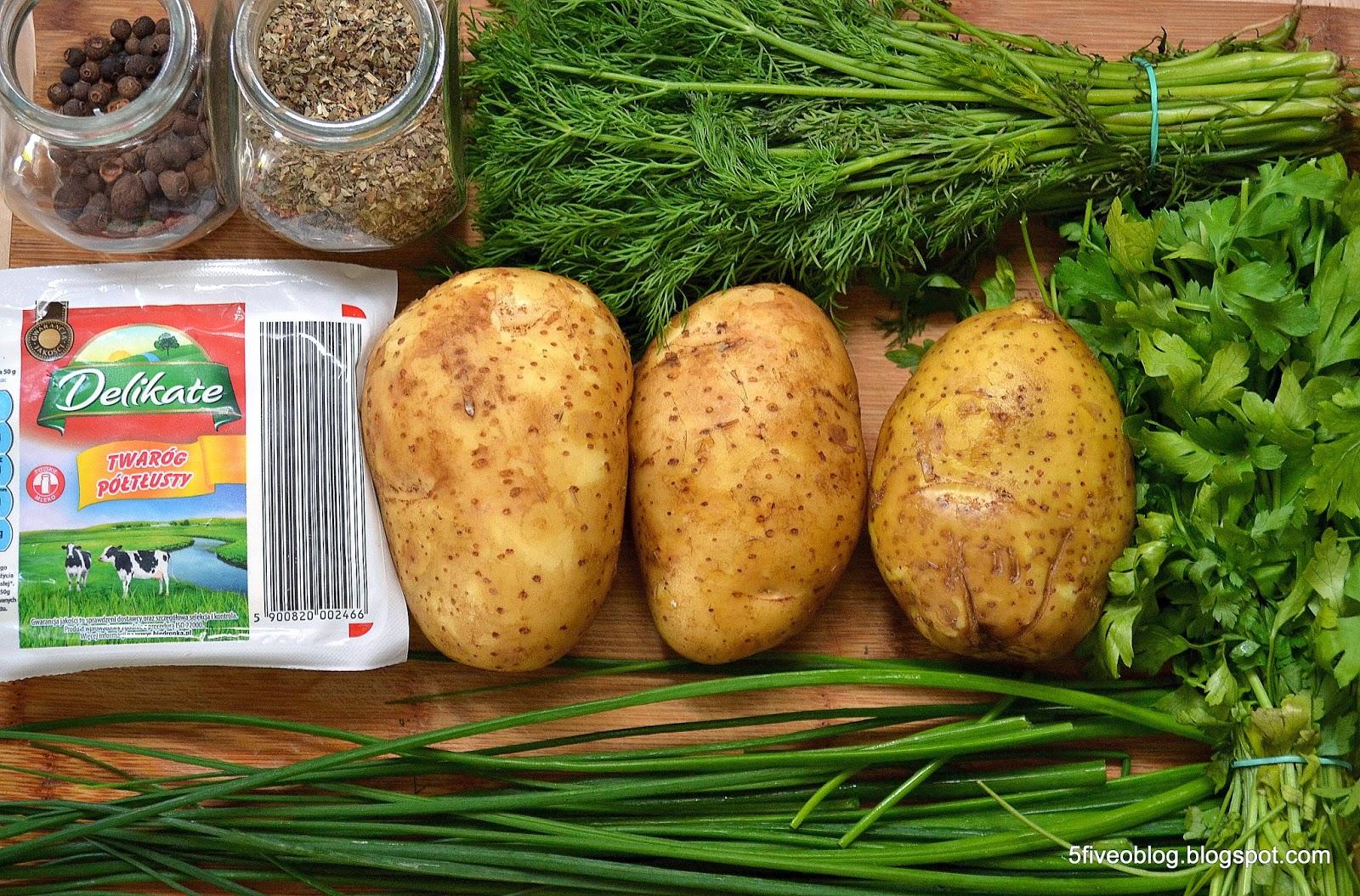 Kto jest przed kolacją? Wczesne ziemniaki z...