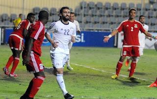 باسم مرسي مهاجم منتخب مصر