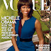 First lady Michalle Obama graces the cover of Vogue
