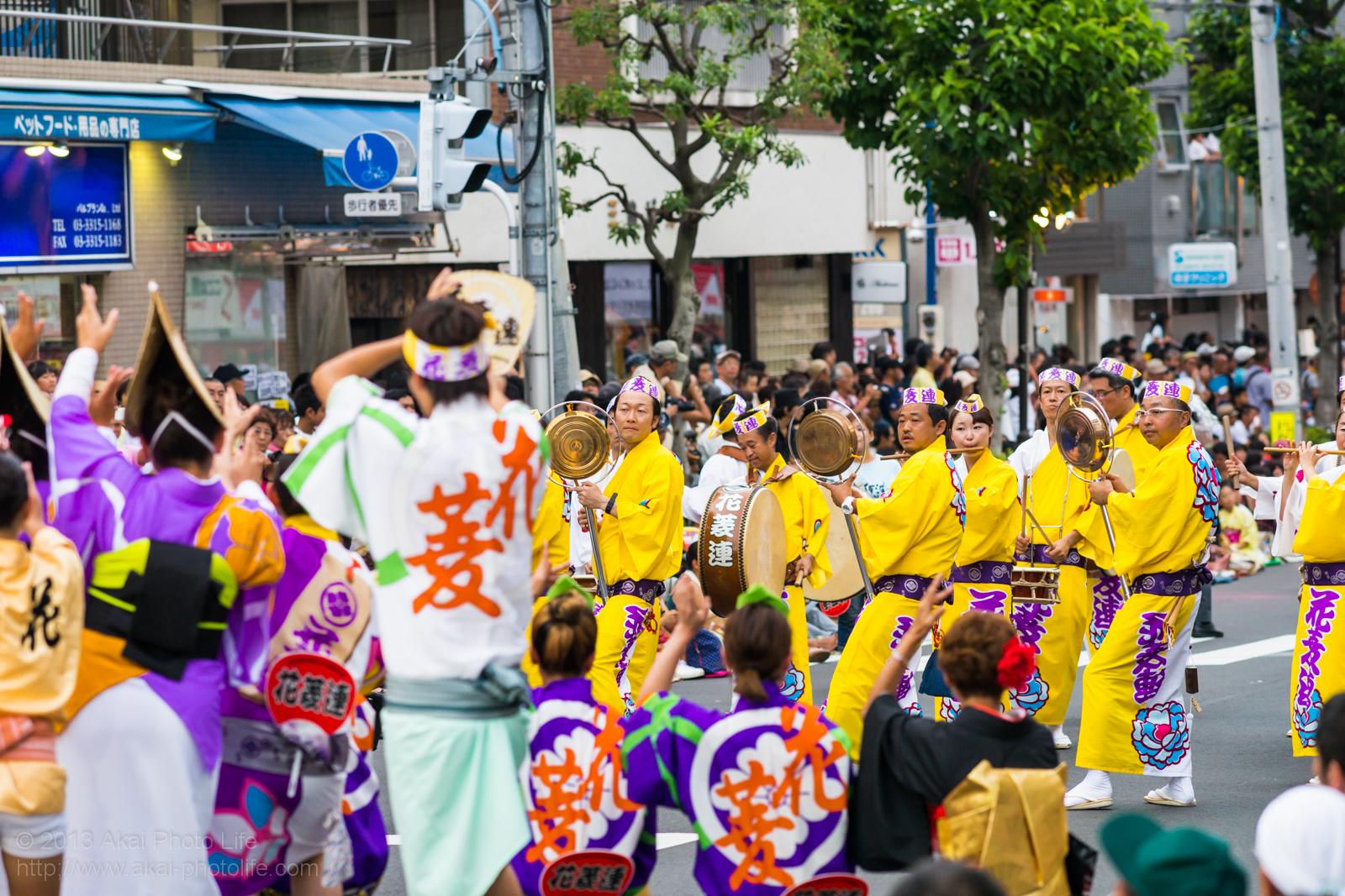 高円寺阿波踊り 花菱連の鳴り物