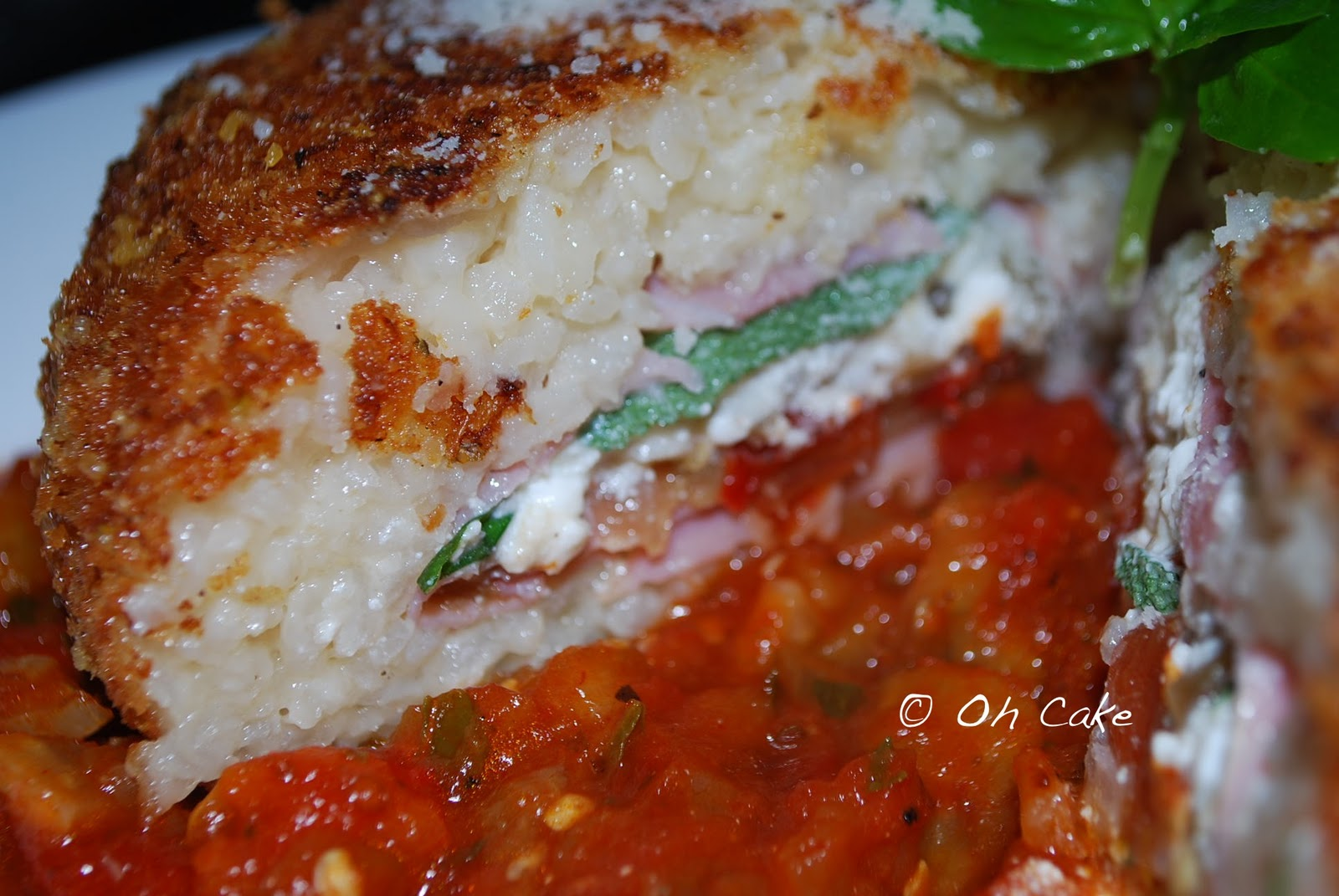 Oh Cake: Stuffed Risotto Cakes