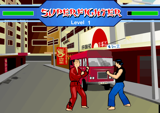Super Fighter Screenshot