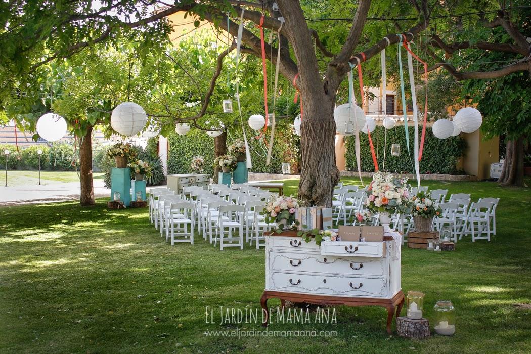 La boda en mint de pilar y mathias el jard n de mam ana - Decoracion de bodas en jardines ...