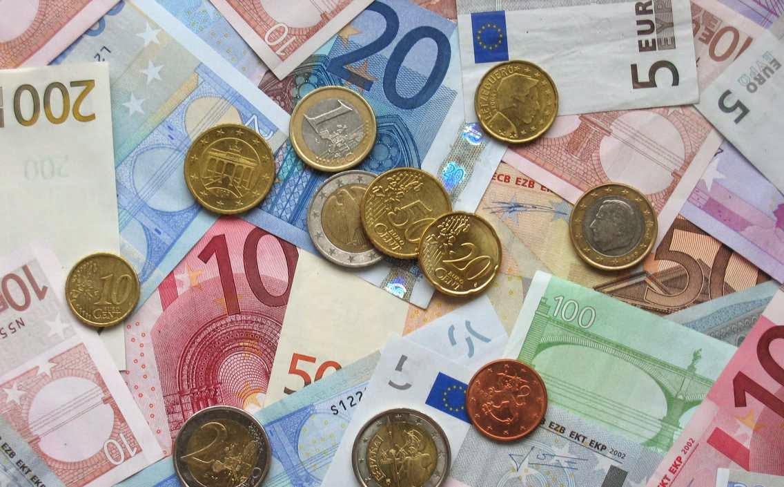 Aportaciones sociales dinerarias en euros