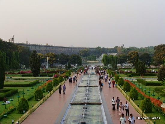 Mysore Brindavan Garden KRS Dam