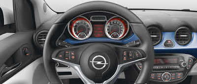 Volanul noului Opel Adam