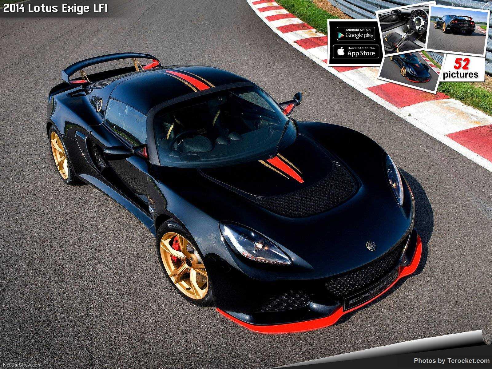Hình ảnh siêu xe Lotus Exige LF1 2014 & nội ngoại thất
