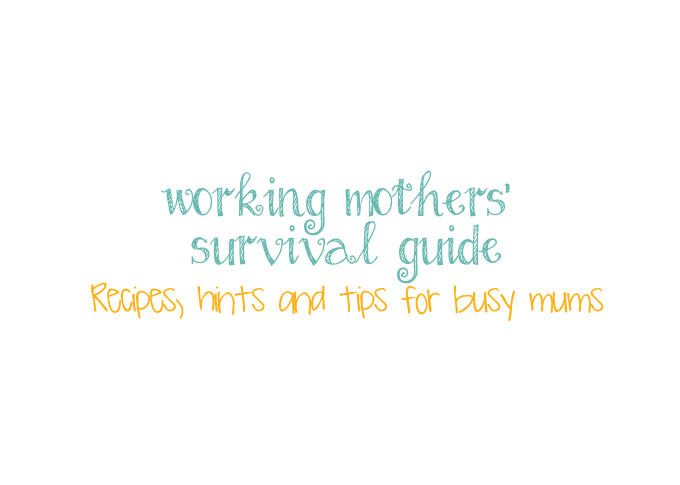 Working Mother's Survival Guide