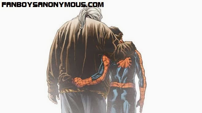 Peter and Uncle Ben reunited in Ultimate comics The Death of Spider-man
