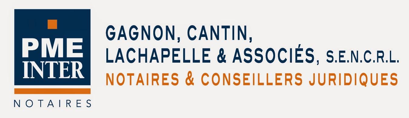 Logo PME inter notaires Gagnon, Cantin, Lachapelle et associés. Joliette, St-Jacques, Ste-Julienne