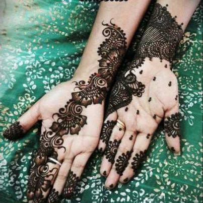 Elegant Mehndi Designs For Bridesmaid  Mayoon Frills