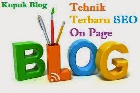 Cara Membuat Optimasi SEO On Page Blog Terbaru Lengkap