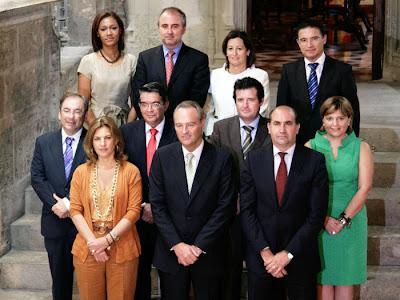 El President de la Generalitat, Alberto Fabra, ha presidido el pleno extraordinario del Consell